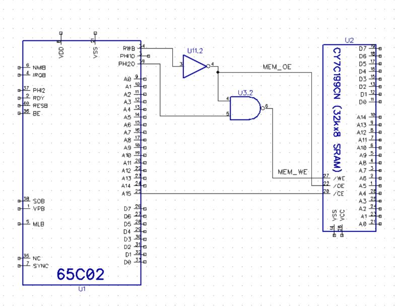 6502 Logic Diagram | Wiring Diagram
