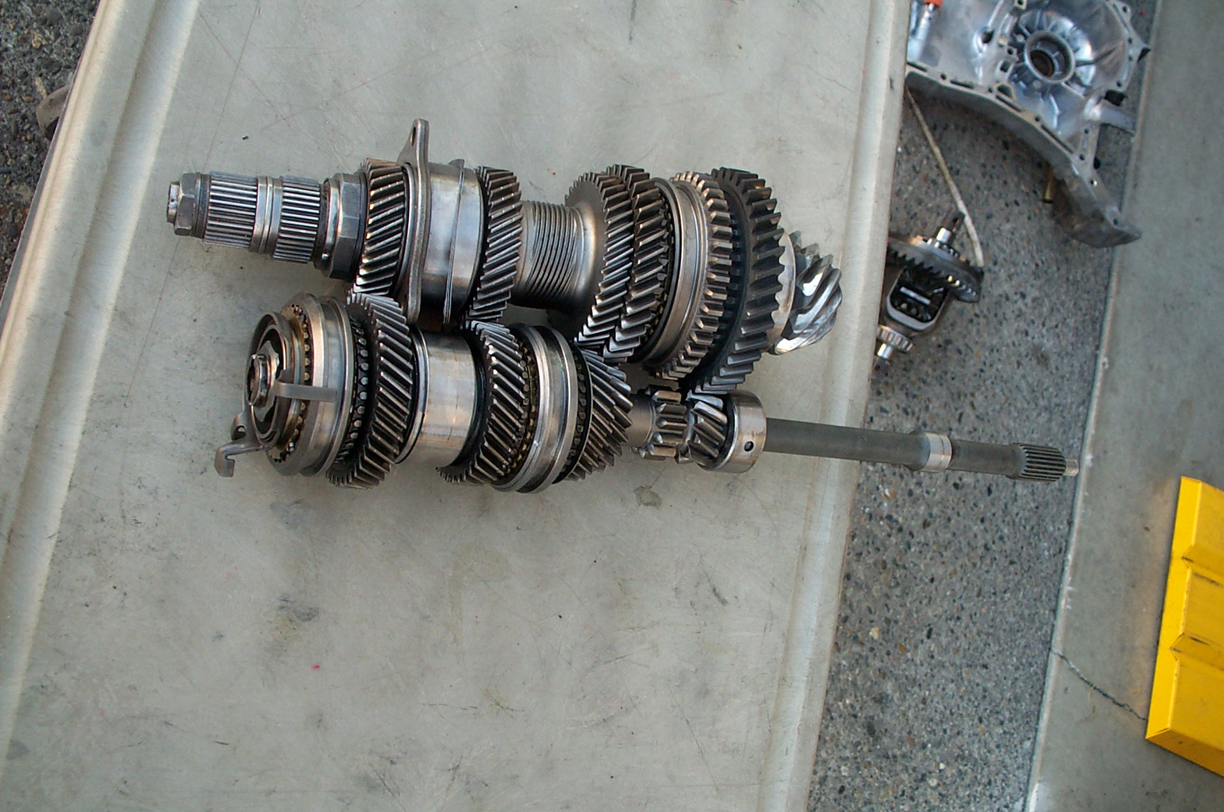 The Transmission Thread 20 Now With Pictures Archive Factory Subaru Front Axle Diagram Five Forums